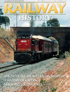 Australian Railway History – April 2020