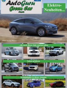 Autoguru Green Car Magazin – Nr 1 2020
