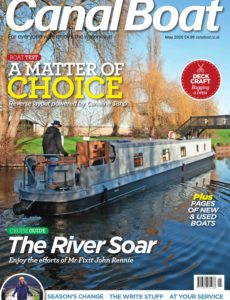 Canal Boat – May 2020