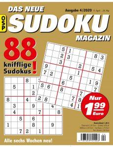 Das Neue Sudoku – Nr 4 2020