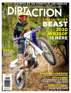 Dirt Action – May-June 2020