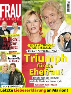 Frau im Spiegel – 15  April 2020