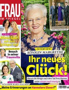 Frau im Spiegel – 22  April 2020