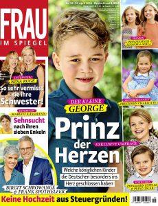 Frau im Spiegel – 29  April 2020