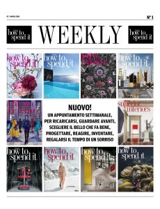 How to Spend It Weekly N 1 – 7 Aprile 2020