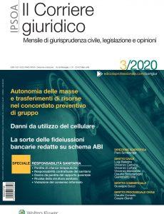 Il Corriere Giuridico – Marzo 2020