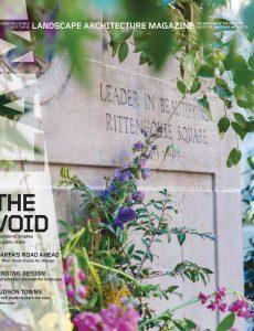 Landscape Architecture Magazine USA – May 2020