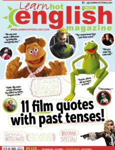 Learn Hot English – No  215, April 2020