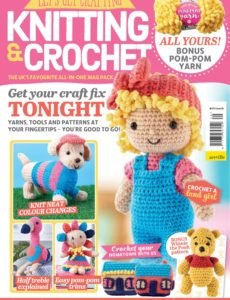 Let's Get Crafting Knitting & Crochet – Issue 120, April 2020