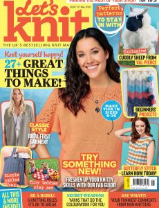 Let's Knit – Issue 157 – May 2020