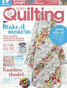 Love Patchwork & Quilting – May 2020