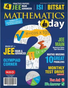 Mathematics Today – April 2020