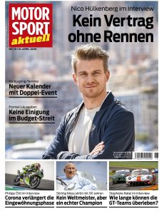 Motorsport Aktuell – 21  April 2020