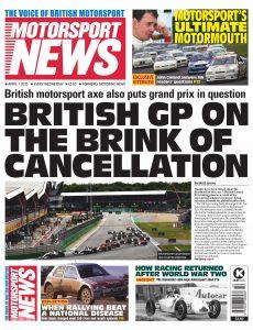 Motorsport News – April 01, 2020