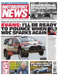 Motorsport News – April 22, 2020