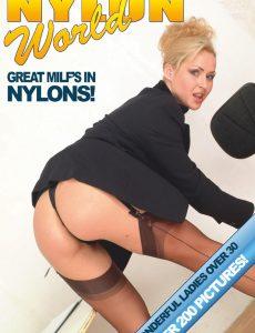 Nylons World Adult Fetish Photo Magazine – Volume 44, 2020