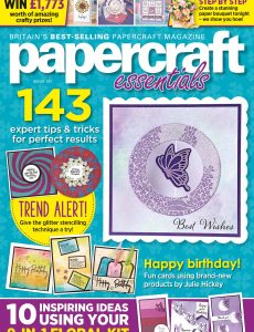 Papercraft Essentials – Issue 187 – April 2020