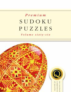 Premium Sudoku Puzzles – Issue 66 – April 2020