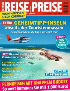 Reise und Preise – Mai-Juli 2020