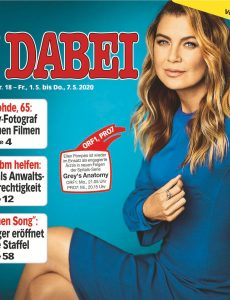 TV Dabei – 29  April 2020