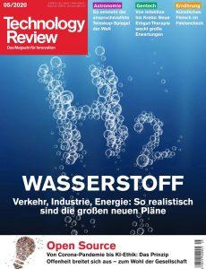 Technology Review – Mai 2020