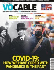 Vocable Anglais – 16 avril 2020