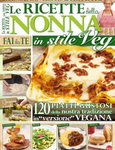We Veg Speciale N 1 – Le Ricette della Nonna in Stile Veg – Settembre-Ottobre 2017