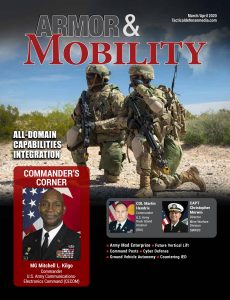 Armor & Mobility – March-April 2020