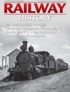 Australian Railway History – Issue 991 – May 2020