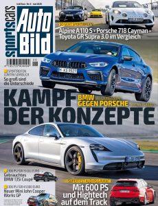 Auto Bild Sportscars – Juni 2020