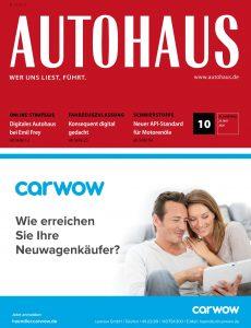 Autohaus – 19  Mai 2020