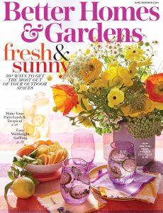 Better Homes & Gardens USA – June 2020