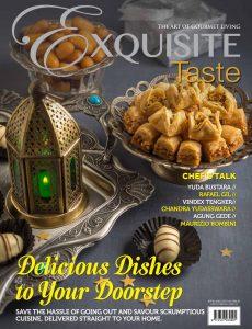 Exquisite Taste – June-August 2020