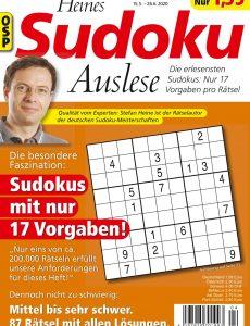 Heines Sudoku Auslese – Nr 4 2020