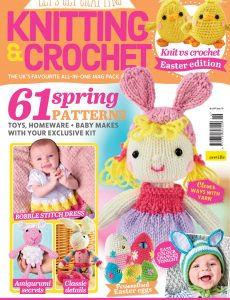 Let's Get Crafting Knitting & Crochet – Issue 119 – February 2020