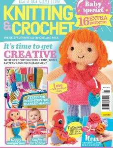 Let's Get Crafting Knitting & Crochet – May 2020