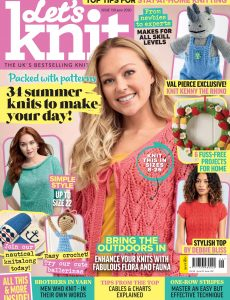 Let's Knit – Issue 158 – June 2020