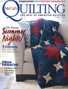McCall's Quilting – July-August 2020