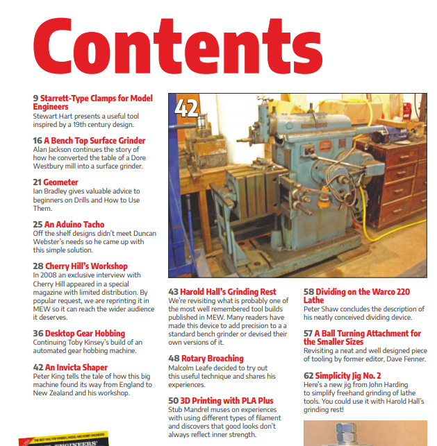 Model Engineers' Workshop Magazine June 2020 issue