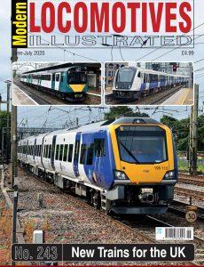 Modern Locomotives Illustrated – Issue 243 – June-July 2020
