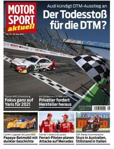 Motorsport Aktuell – 05  Mai 2020