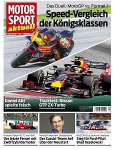 Motorsport Aktuell – 26  Mai 2020