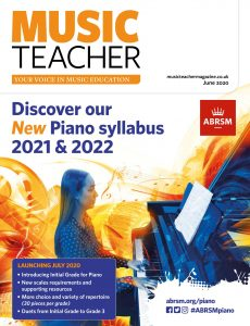 Music Teacher – June 2020