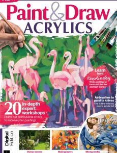 Paint & Draw Acrylics – First Edition 2020