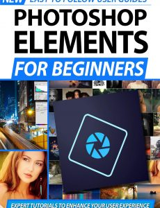 Photoshop Elements For Beginners – 2nd Edition 2020