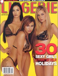 Playboy's Lingerie – January-February 2004