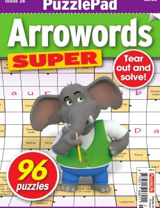 PuzzleLife PuzzlePad Arrowords Super – Issue 26 – May 2020