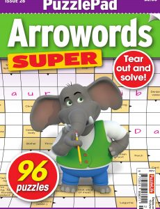 PuzzleLife PuzzlePad Arrowords Super – 21 May 2020
