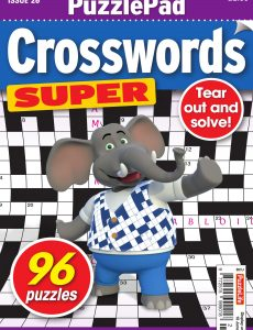 PuzzleLife PuzzlePad Crosswords Super – Issue 26 – May 2020