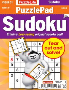 PuzzleLife PuzzlePad Sudoku – Issue 51 – May 2020